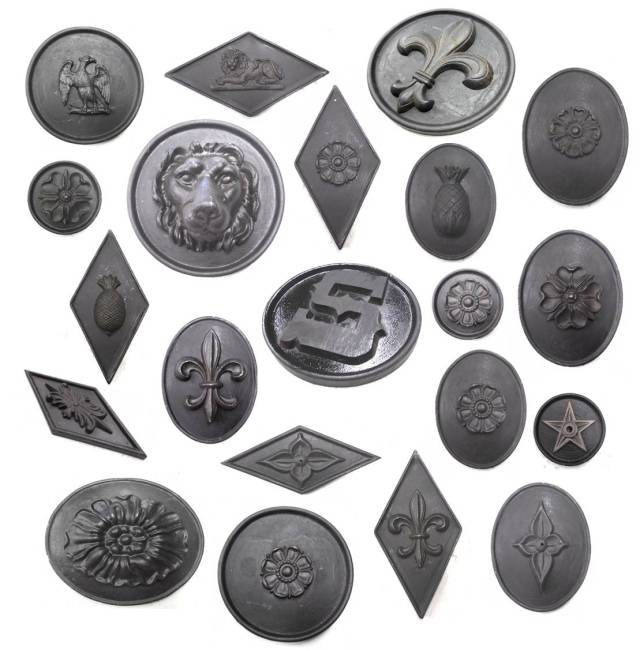 Decorative Cast Medallions
