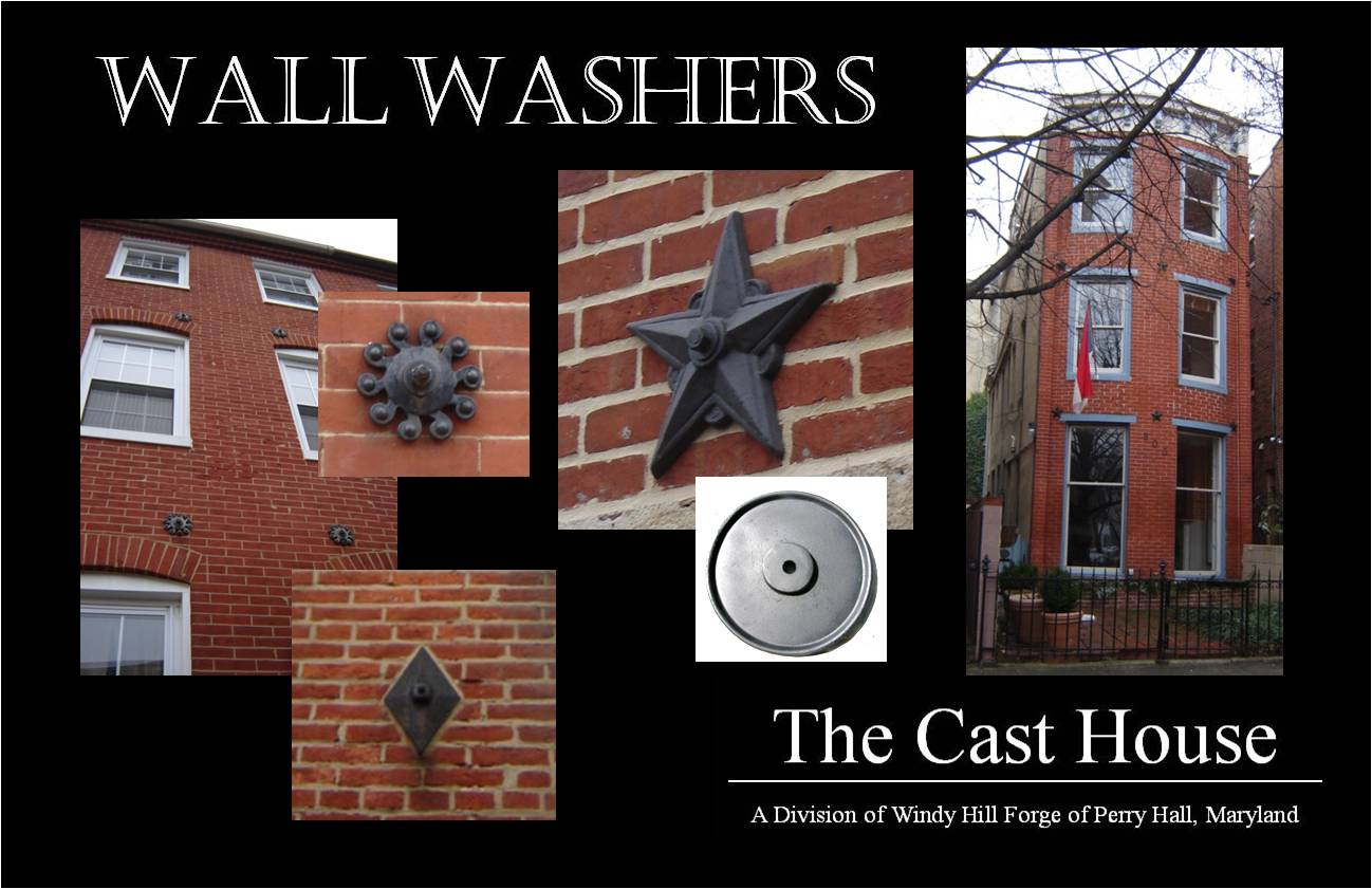 decorative masonry block.htm wall washers windy hill forge the cast house  wall washers windy hill forge the